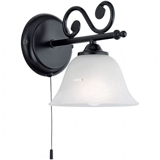 EGLO 91006 Fali lámpa 1xE14 max. 40W kapcs. fekete Murcia