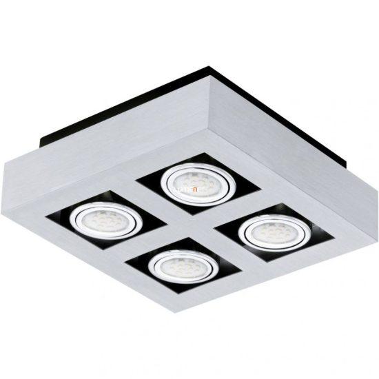 EGLO 91355 LED-es fali/Mennyezeti lámpa GU10 4x5W csiszolt alu Loke 1