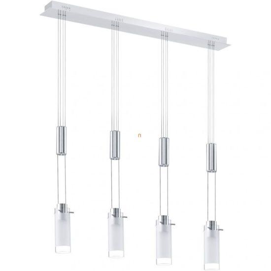 EGLO 91546 LED-es Függeszték 4x6W króm/szatinüveg Aggius