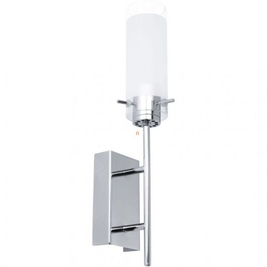 EGLO 91547 Aggius LED-es fali lámpa 1x6W króm/szatén üveg