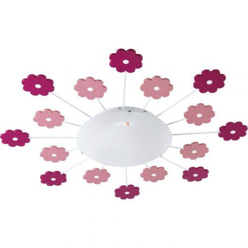 Eglo 92147 Viki 1 fali/mennyezeti lámpa 1xE27 max.60W rózsaszín virág