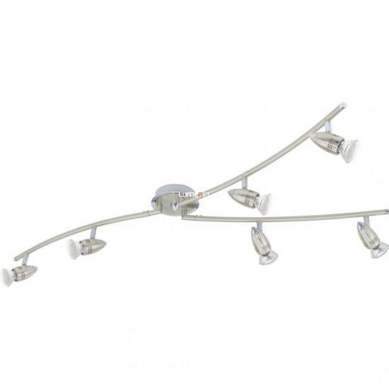 Eglo 92645 LED-es Y-forma GU10 6x3W matt nikkel/króm Magnum-LED