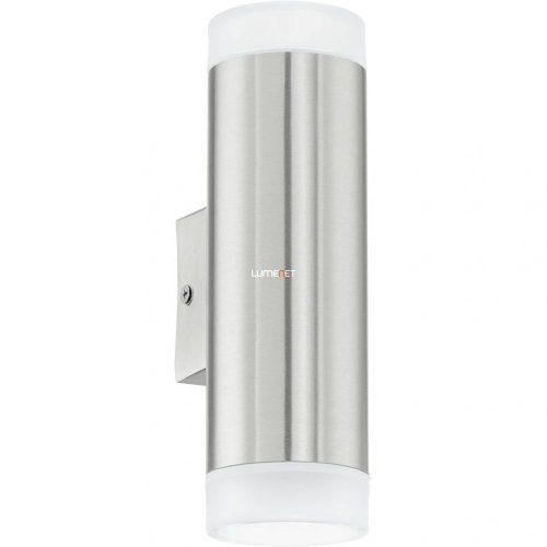 Eglo 92736 LED-es kültéri fali GU10 2x2,5W IP44 nemes acél RIGA-LED