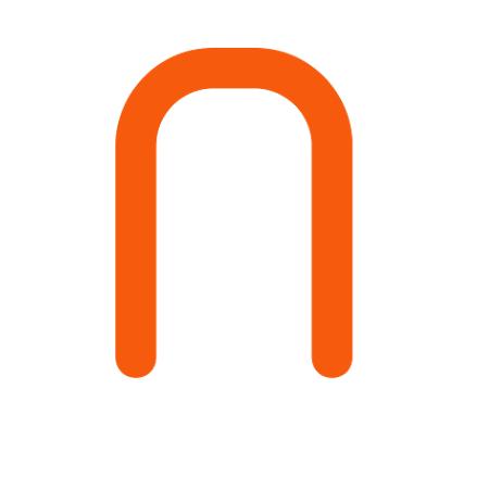 EGLO 92763 Asztali lámpa 1xE27 max. 60W acél/króm szatin/áttetsző üveg dupla burás d:20cm Bolsano