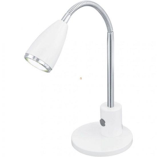 Eglo 92872 LED-es asztali GU10 3W acél  fehér/króm m:32cm Fox