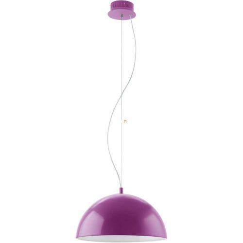 Eglo 92949 LED-es függeszték 18W acél/műanyag ibolyakék/fehér d:38cm Gaetano