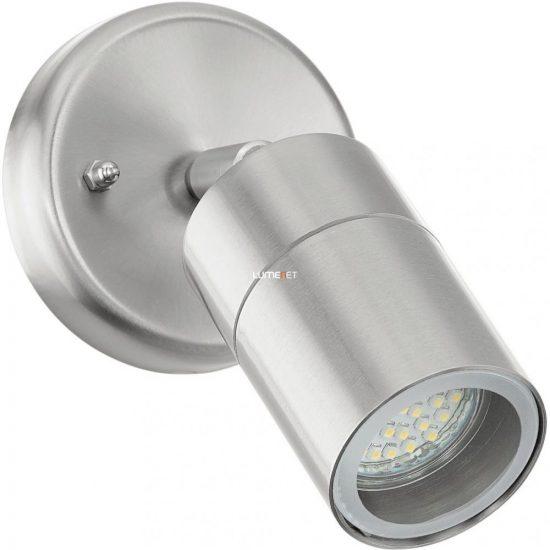 EGLO 93268 Kültéri LED fali GU10 1x50W d:6,5cm nemesacél, üveg IP44 Stockholm 1