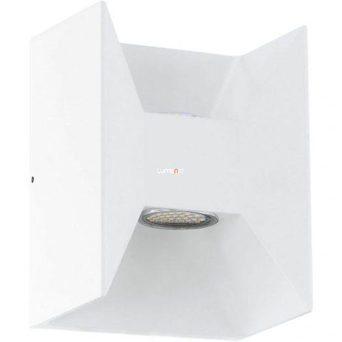 Eglo 93318 Morino kültéri LED fali 2x2,5W 360lm 14*18*10,5cm alumínium öntvény fehér IP44