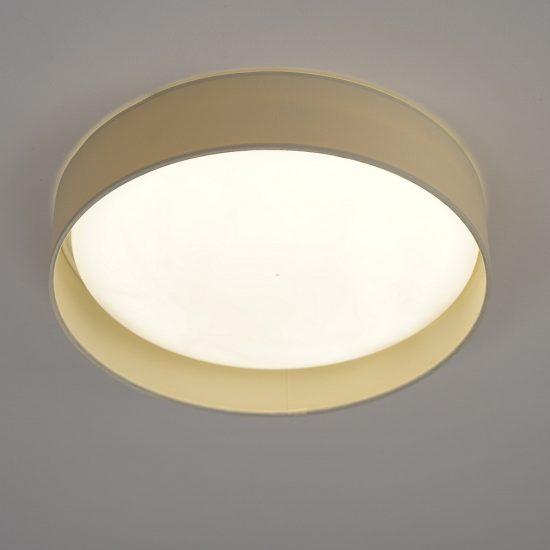 Eglo 93392 mennyezeti LED lámpa 12W d:32cm műanyag fehér/textil krém Palomaro