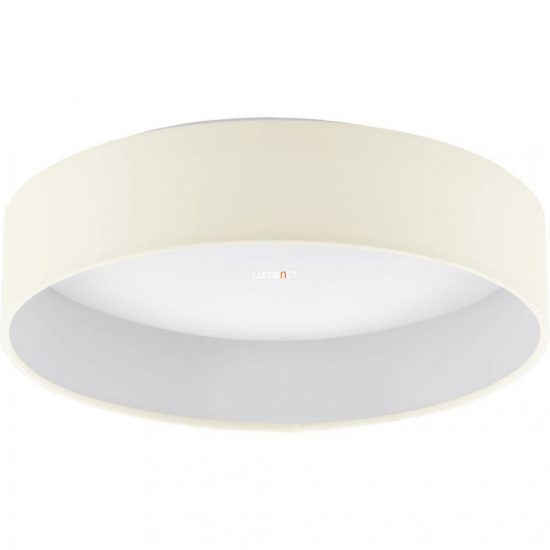 Eglo 93392 Palomaro mennyezeti LED lámpa 12W d:32cm műanyag fehér/textil krém