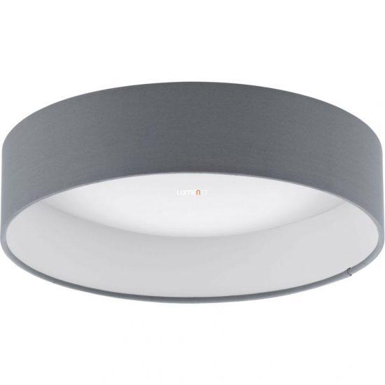 EGLO 93395 LED-es Mennyezeti lámpa 12W d:32cm műanyag fehér/textil antracit Palomaro