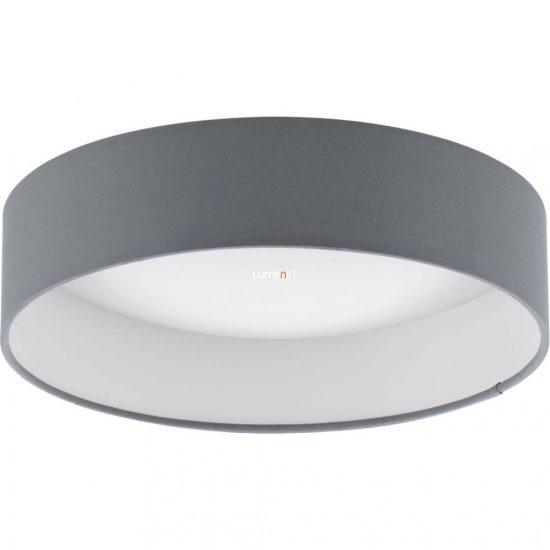 Eglo 93395 mennyezeti LED lámpa 12W d:32cm műanyag fehér/textil antracit Palomaro