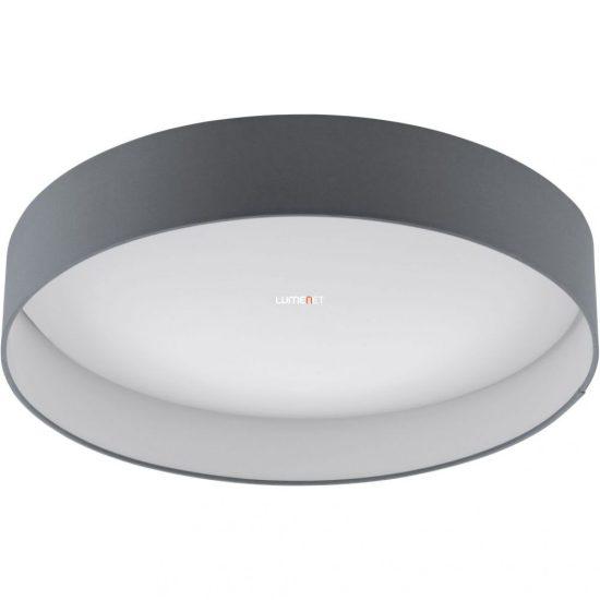 Eglo 93397 mennyezeti LED lámpa 24W d:50cm műanyag fehér/textil antracit Palomaro