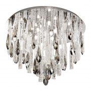 Eglo 93433 Calaonda mennyezeti kristály lámpa 8xG9 max. 33W