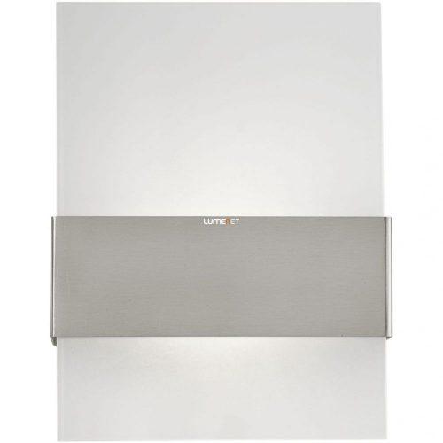 Eglo 93438 kültéri LED fali 2x2,5W 380lm 21,5*29*9cm nemesacél, szatin üveg IP44 Nadela