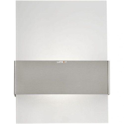 Eglo 93438 Nadela kültéri LED fali 2x2,5W 380lm 21,5*29*9cm nemesacél, szatin üveg IP44