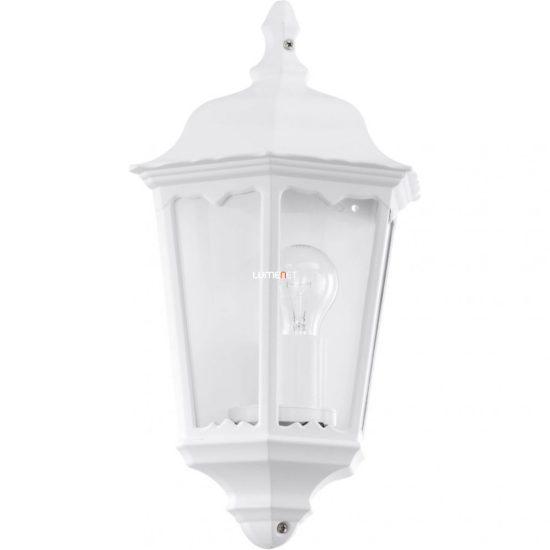 Eglo 93448 Navedo kültéri fali lámpa 1xE27 max.60W 29*43*13cm alumínium öntvény fehér, átlátszó üveg IP44