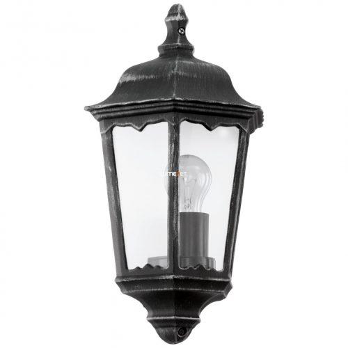 Eglo 93459 Navedo kültéri fali 1xE27 max.60W 29*43*13cm alumínium öntvény fekete, átlátszó üveg IP44