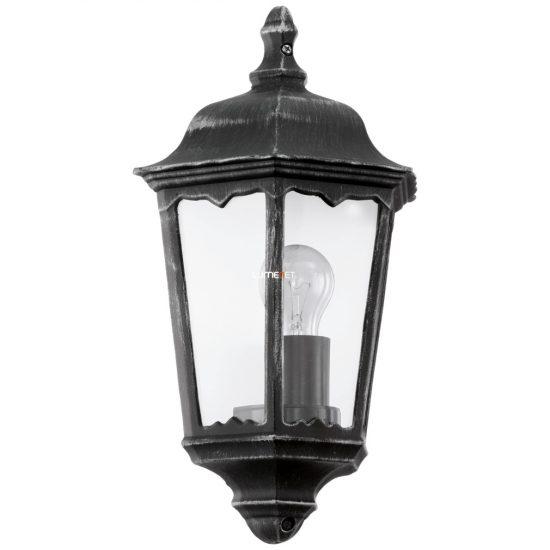 EGLO 93459 Kültéri fali 1xE27 max.60W 29*43*13cm alumínium öntvény fekete, átlátszó üveg IP44 Navedo