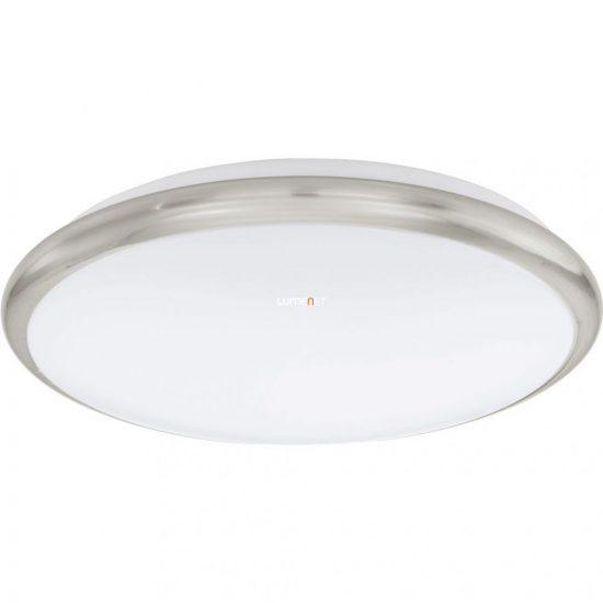 EGLO 93498 LED-es Mennyezeti lámpa 12W 30cm matt nikkel/fehér Manilva