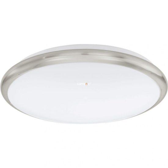 Eglo 93498 Manilva mennyezeti LED lámpa 12W 30cm matt nikkel/fehér