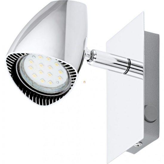 EGLO 93672 LED-es fali GU10 1x3W króm 12x6cm Corbera