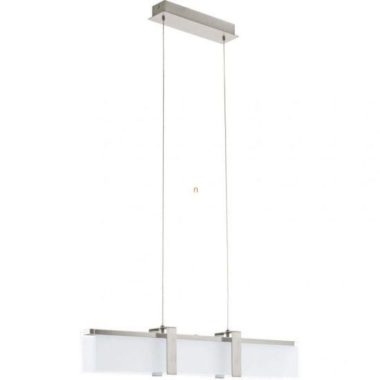 EGLO 93738 LED-es Függeszték 24W matt nikkel/szatin üveg 75x9cm Campera