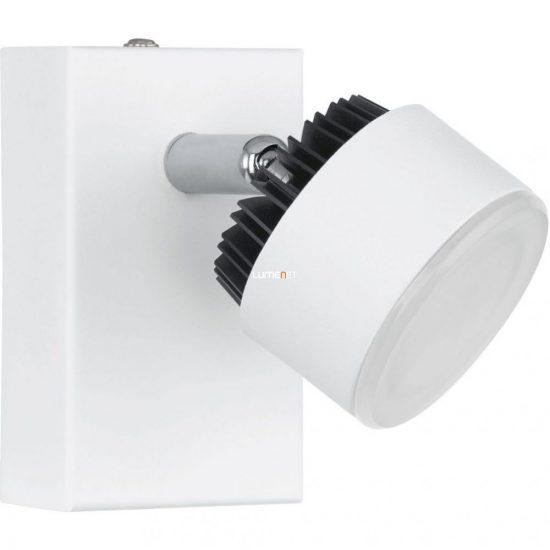 EGLO 93852 Armento fali LED lámpa 1x6W alumínium fehér/fekete 6x10cm