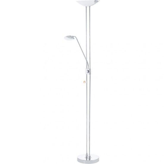 EGLO 93875 LED-es Állólámpa 20W/2,5W/2,5W olvasókarral m:180cm sz:36cm króm Baya LED