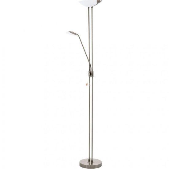 EGLO 93876 LED-es Állólámpa 20W/2,5W/2,5W olvasókarral m:180cm sz:36cm bronz Baya LED