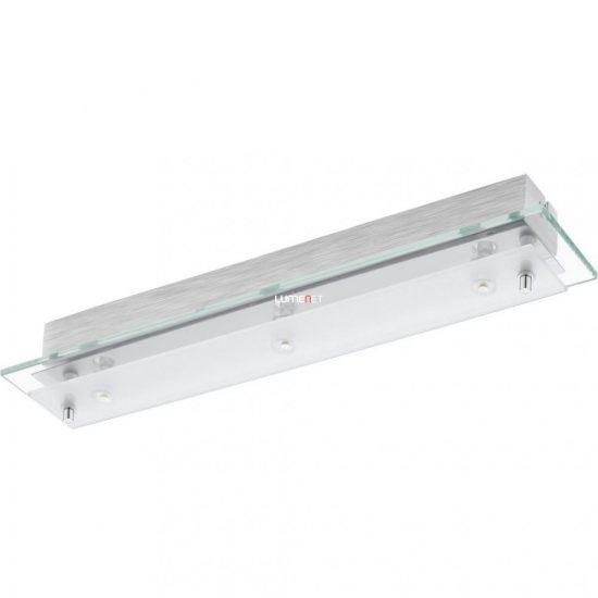 Eglo 93886 Fres 2 LED-es fali/mennyezeti lámpa 3x5,4W króm/szatin üveg 45cm