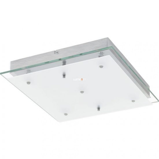 Eglo 93889 Fres 2 mennyezeti LED lámpa 5x5,4W 38x38cm króm/szatin üveg