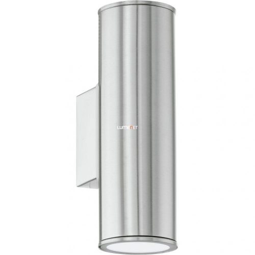 Eglo 94107 LED-es kültéri fali GU10 2x3W IP44 nemes acél Riga