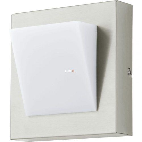 Eglo 94114 LED-es kültéri fali 1x3,7W IP44 nemes acél/fehér Calgary 1
