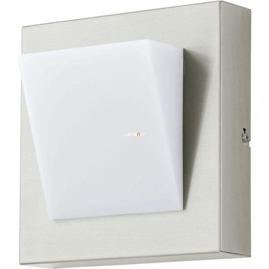 Eglo 94114 Calgary 1 LED-es kültéri fali 1x3,7W IP44 nemes acél/fehér
