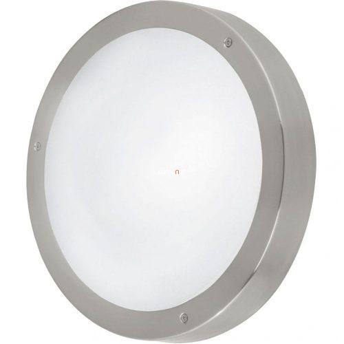 Eglo 94121 Vento 1 LED-es kültéri fali/mennyezeti lámpa 3x2,5W LED IP44 nemesacél/fehér
