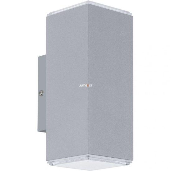 EGLO 94186 LED-es kültéri fali 2x3,7W IP44 ezüst Tabo