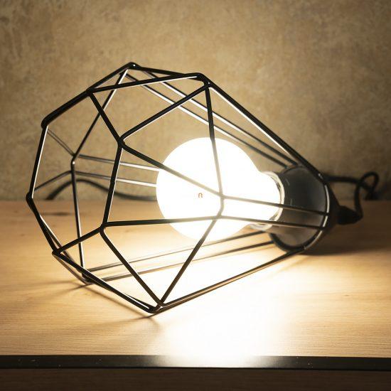 EGLO 94192 Asztali lámpa 1xE27 max. 60W fekete Tarbes