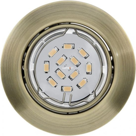 EGLO 94243 Led beépíthető GU10 1x5W bronz Peneto