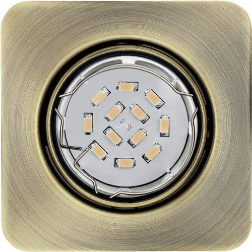 EGLO 94269 Led beépít.GU10 3x5W bronz szögletes Peneto