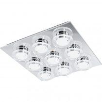 Eglo 94487 mennyezeti LED 9x4,5W króm/átlátszó Cisterno