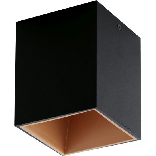 EGLO 94496 Led mennyezeti 1x3,3W fekete/réz Polasso