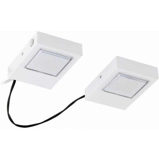 EGLO 94517 Led-es konyhai lámpa 2x3,7W 560lm fehér szögletes Lavaio