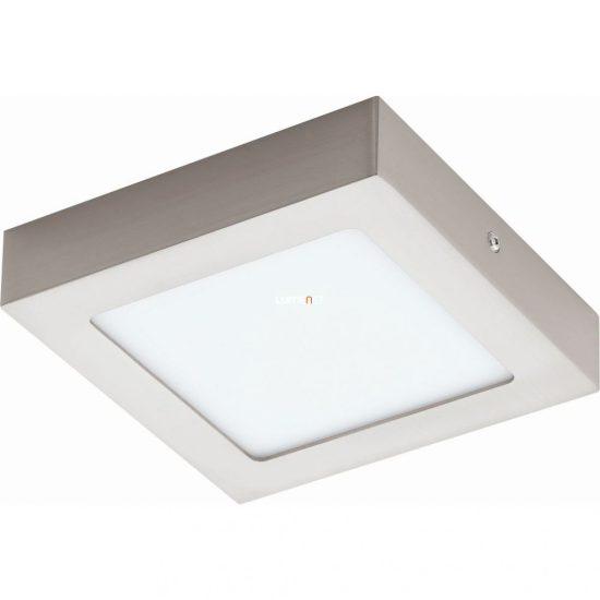 Eglo 94524 Fueva 1 LED mennyezeti 10,95W 1200lm matt nikkel 17cm szögletes