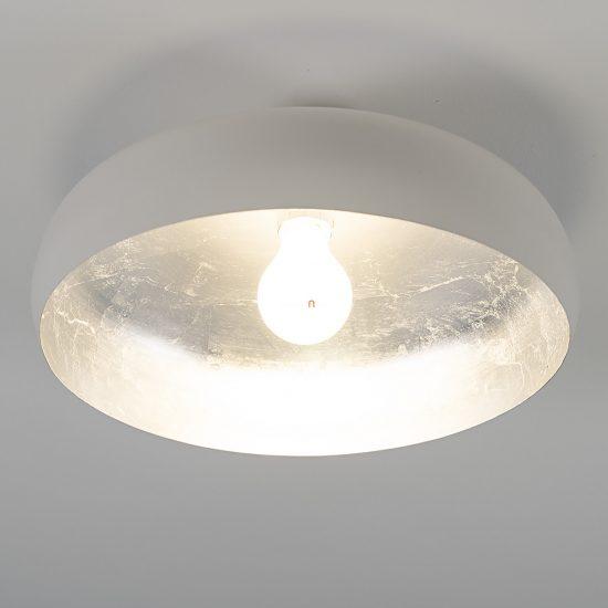 Eglo 94548 Mogano mennyezeti E27 60W fehér/ezüst 40cm