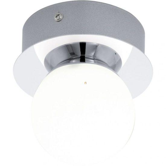 EGLO 94626 LED-es Fali-mennyezeti lámpa 1x3,3W 340lm d:11cm króm/opál gömb Mosiano