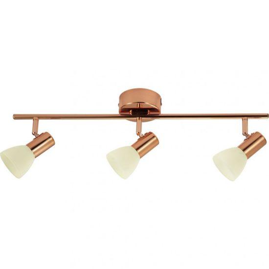 EGLO 94738 Glossy 2 fali/mennyezeti LED lámpa 3x5W réz/pezsgő