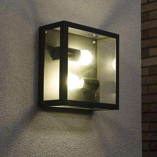 Eglo 94832 Alamonte 1 kültéri fali/mennyezeti lámpa 1xE27 max.60W IP44 290x130x290mm