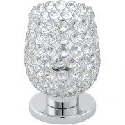 EGLO 94899 asztali lámpa 1xE27 max. 60W króm/kristály Bonares