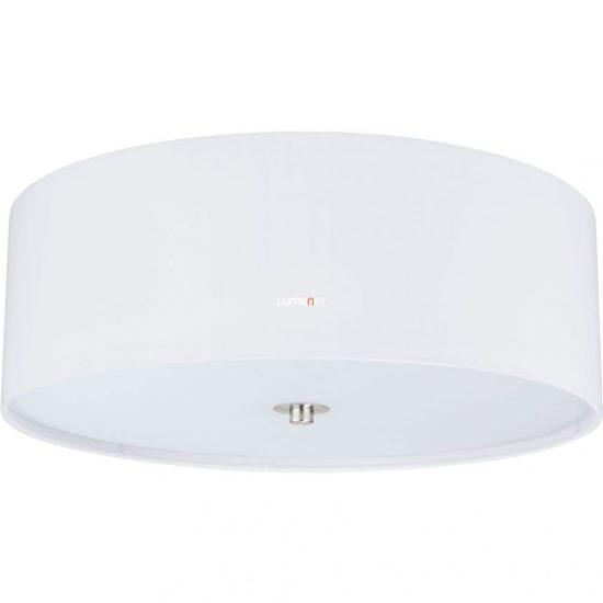 Eglo 94918 Pasteri fehér textil mennyezeti lámpa 3xE27 foglalattal